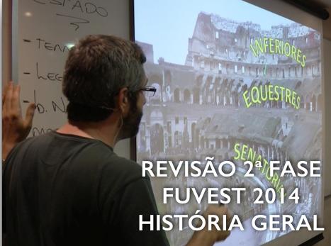 REVISÃO FUVEST 2014 2 FASE