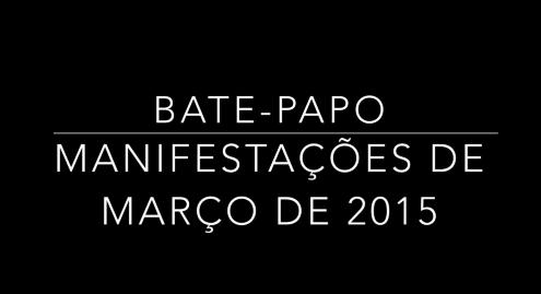 BATE-PAPO MANIFESTAÇÕES